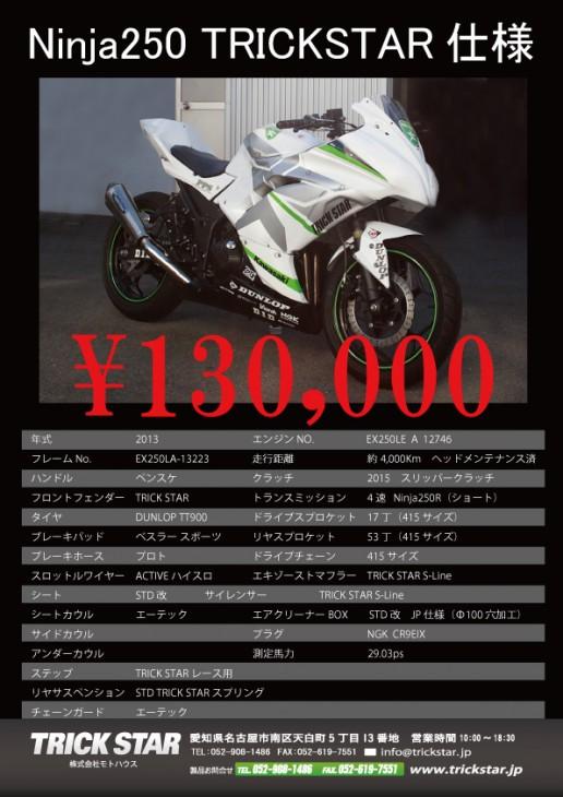 Ninja250_車両使用書