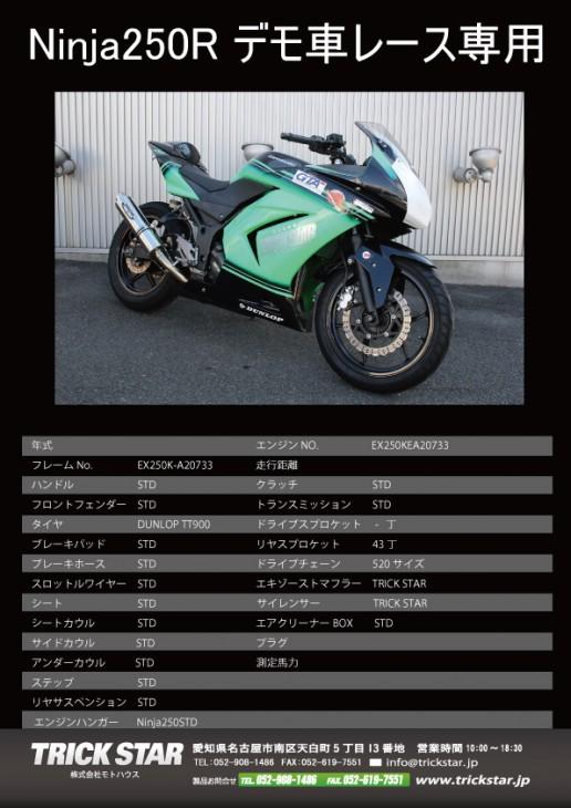 Ninja250R_車両使用書