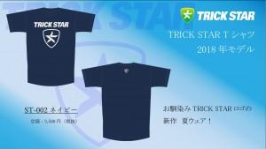 Tシャツ ST-002-ネイビー