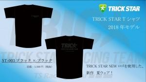 Tシャツ ST-003-ブラック×ブラック