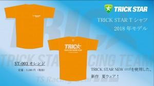 Tシャツ ST-003-オレンジ