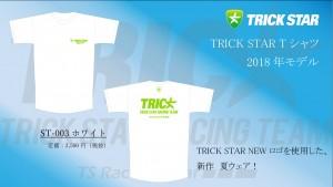 Tシャツ ST-003-ホワイト
