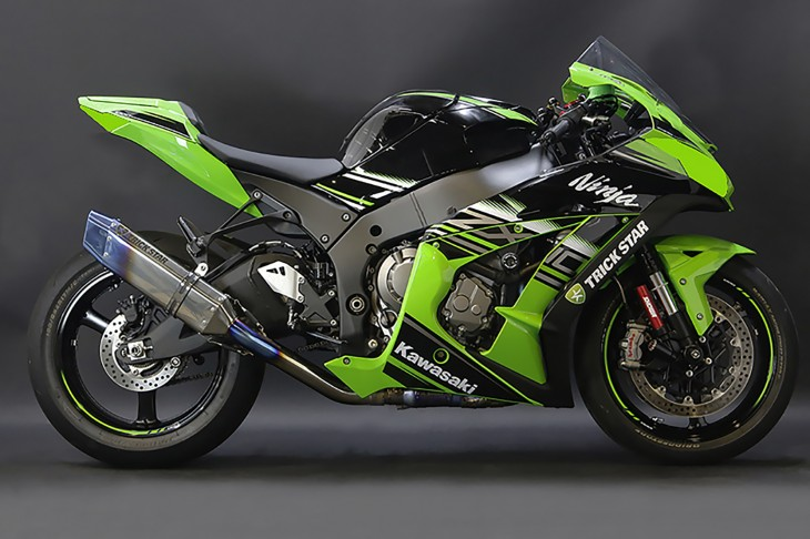 ZX-10R 焼き色付きパイプ 1