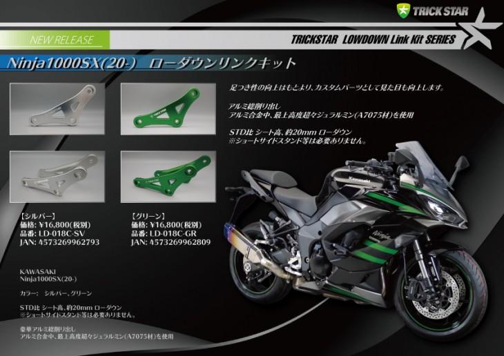 Ninja1000SXローダウンリンク_完